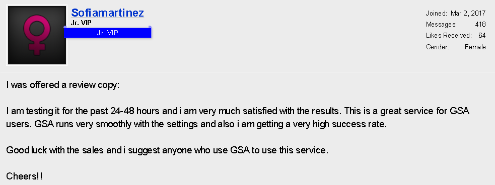 GSA Search Engine Ranker Verified List Reviews – SERPGROW